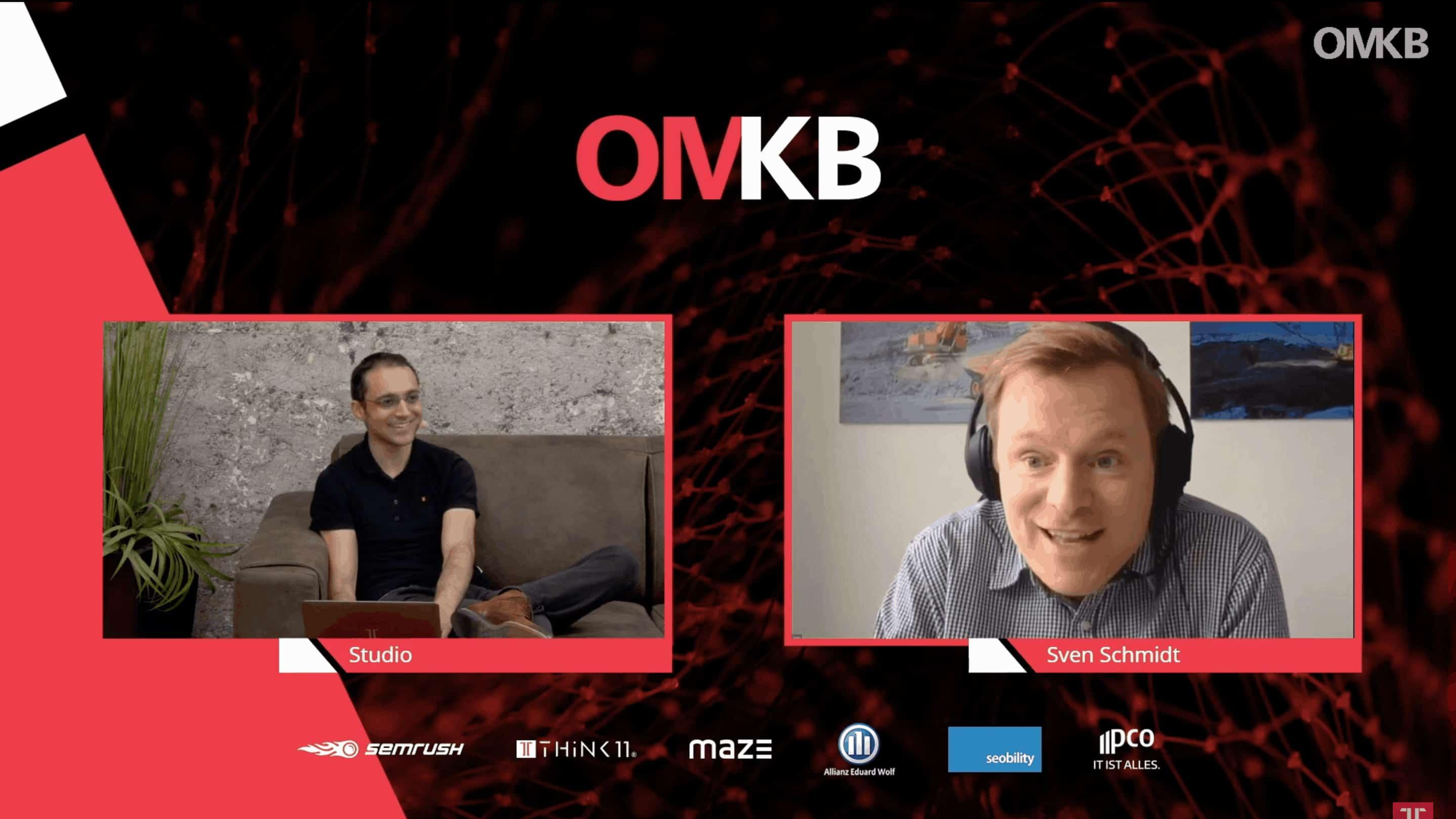 Sven Schmidt bei der OMKB im Oktober 2020
